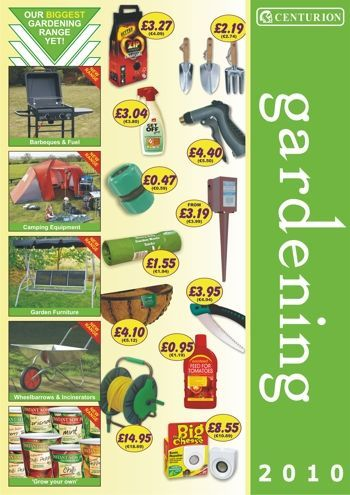 Gardening 2010 new from Centurion Europe