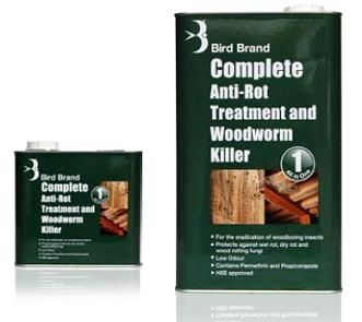 Bird Brand Complete Anti-Rot & Woodworm Killer