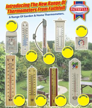 Keep Your Cool with Faithfull Thermometers