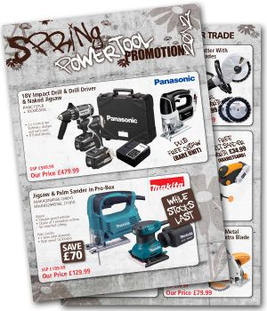 Now Available Spring Power Tool Promotion Great Value and Big Savings from BIZ Power Tools