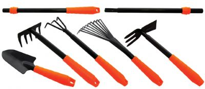 Am-Tech 7PC Garden Tool Set