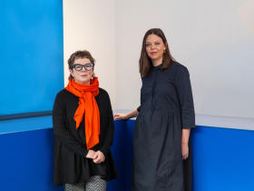 Polly Dickens, outgoing Creative Director, [LEFT] and Kate Butler, Head of Product Design [RIGHT] - Habitat - November 2017