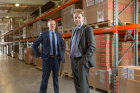 L-R: CMO financial director Ross Sanger and CEO Andy Dunkley