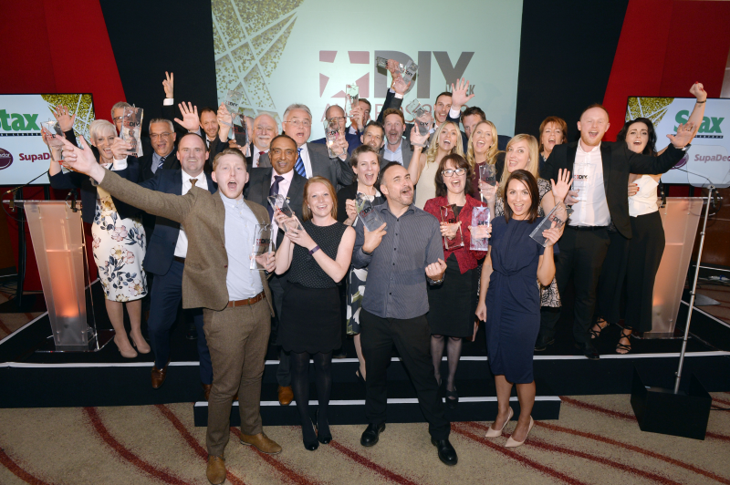 The overall winners in each category will be announced atthe DIY Week Awards lunch on Friday, May 10 at the Tower Hotel, London. Book your ticket now