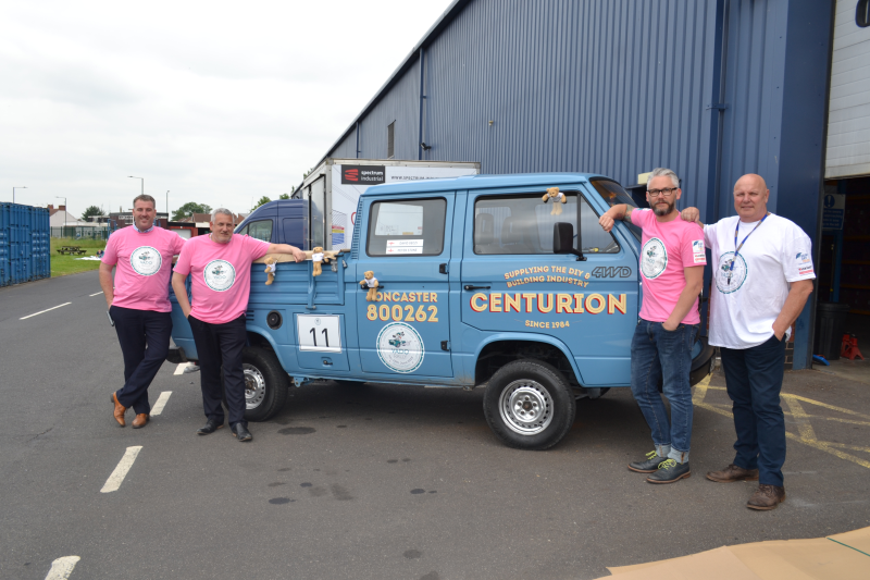 The Centurion team is ready to set off and start the rally tomorrow