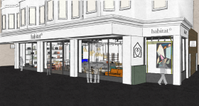 Habitat Brighton - Shop Front - Artist Impression - Image from Habitat