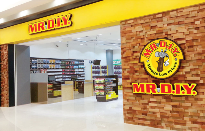 Mr DIY will open 135 outlets in Malaysia this year (image courtesy of mrdiy2u.com)