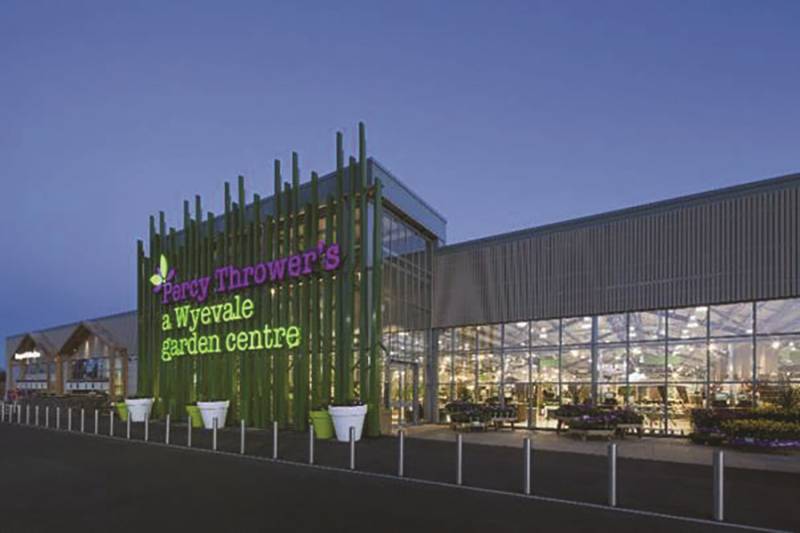 Blue Diamond will take over eight Wyevale garden centres, including Percy Thrower