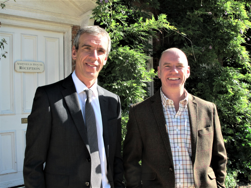 L-R: George Hillier and Martin Hillier, are the fifth generation of the family to join the Hillier board