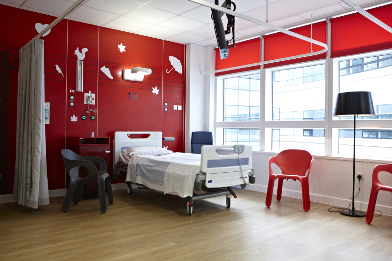 Wilko has donated products to the teenage cancer unit at the Queen Elizabeth Hospital in Birmingham