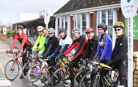 Garden Re-Leaf 2018 cyclists