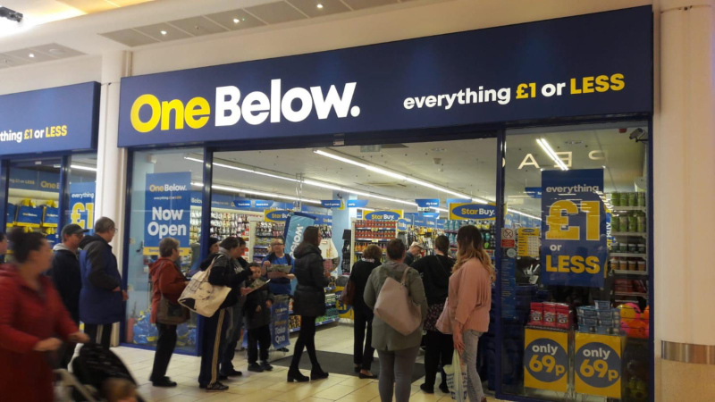 New store openings have been met with queues of hundreds of customers