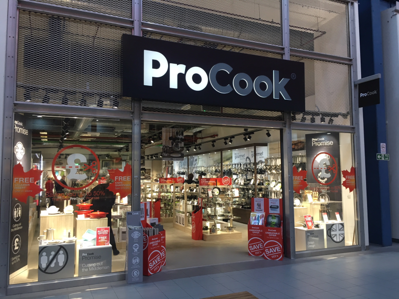 ProCook will utilise the 13 most profitable Steamer Trading stores to aid expansion plans and grow its estate to 50