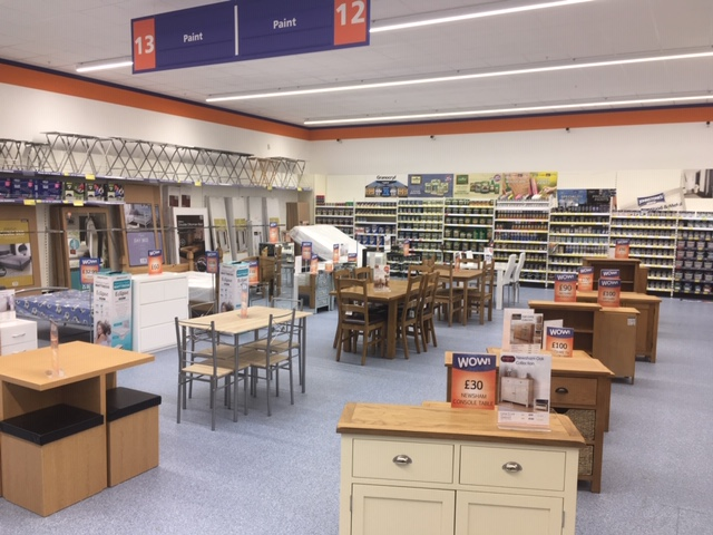 The Wallsend store has stepped up its furniture, DIY and decorating offer, thanks to the extra 661sq m floorspace