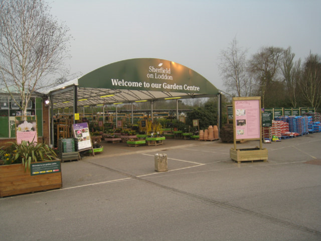 Capital Gardens has acquired Sherfield on the Loddon garden centre from Wyevale Image courtesy of www.geograph.org.uk