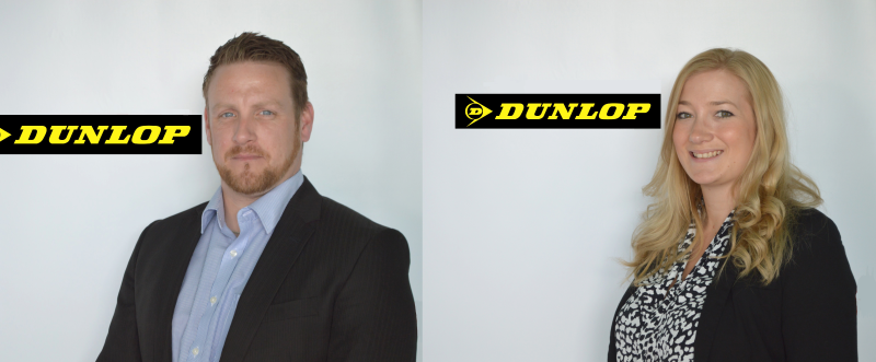David Moore and Kathryn Hyde have joined Dunlop, strengthening its sales and marketing team