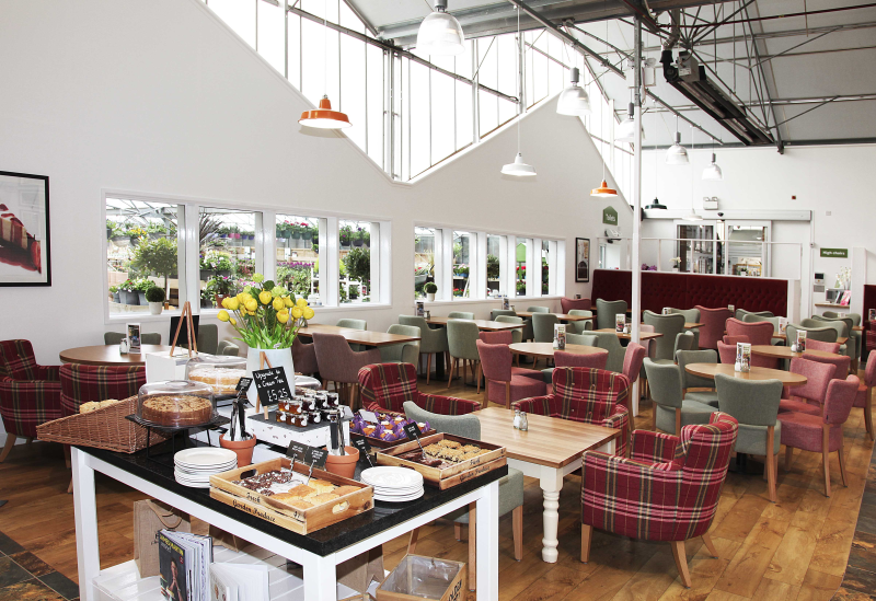 Notcutts Booker Garden Centre underwent a full redevelopment of both its retail environment and restaurant during the year