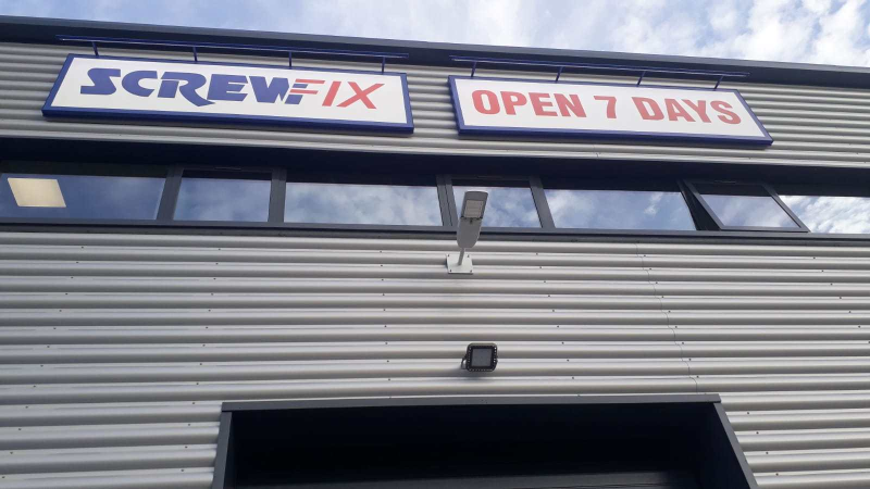 Screwfix High Wycombe - Loudwater opened its doors on August 8