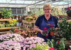 Fiona Dean of Ravensworth Nurseries