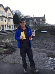 Steve Durston recently walked more than 600 miles for Diabetes UK