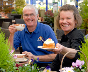 Two new faces for revamped garden centre