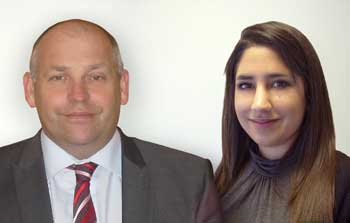 Two new faces at Ideal Bathrooms