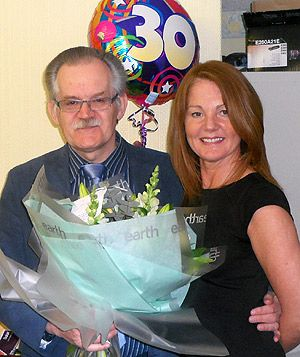 Bromborough employee celebrates 30 years with the firm