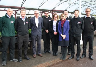 Squire's reshuffles garden centre management