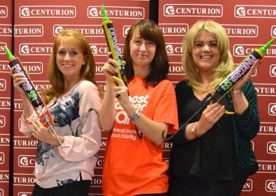 Centurion Europe and Everbuild support breast cancer charity