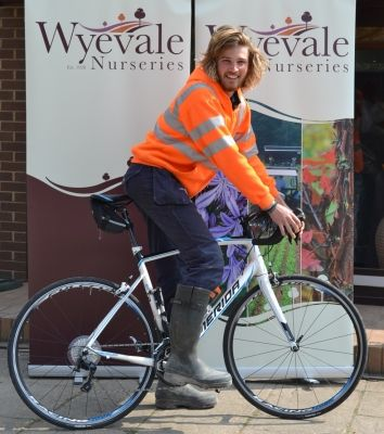 Wyevale Nurseries' Ben to pedal from Paris to Yeovil