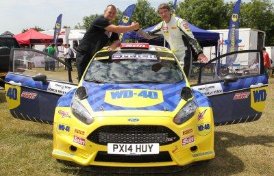 WD-40 winner is off to Wales Rally GB